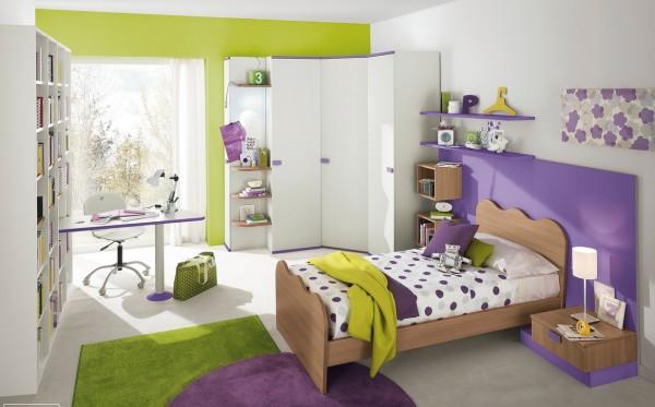 4-Purple-green-girls-bedroom-600x373