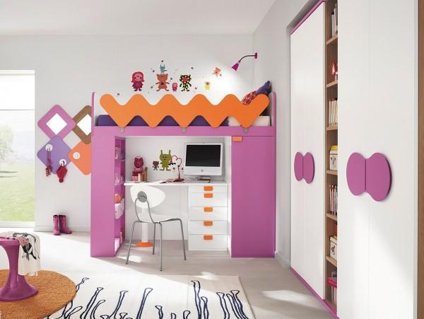 8-Girls-cabin-bed-600x451