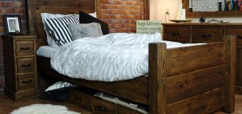 Dřevěné postele stále hrají prim