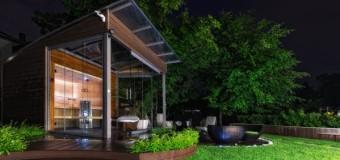 Luxusní sauna, to pravé místo pro odpočinek